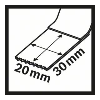 Bosch Tauchsägeblatt AIZ 20 AB Metal BIM 20 x 20 mm