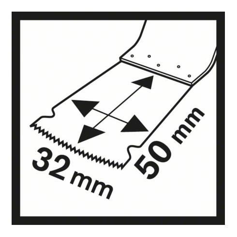 Bosch Tauchsägeblatt AIZ 28 EB Wood and Metal, BIM, 50 x 28 mm