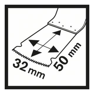 Bosch Tauchsägeblatt BIM AIZ 28 EB Wood and Metal 50 x 28 mm