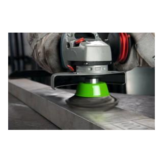 Bosch Topfbürste Edelstahl gewellter Draht 100 mm 0,3 mm 8500 U/min M14