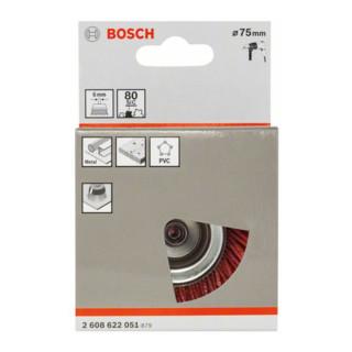 Bosch Topfbürste Nylonborste mit Korund