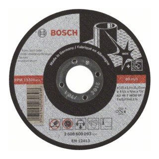 Bosch Trennscheibe gerade Expert for Inox AS 46 T INOX BF