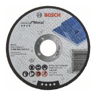 Bosch Trennscheibe gerade Expert for Metal A 30 S BF