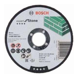 Bosch Trennscheiben Expert for Stone, gerade