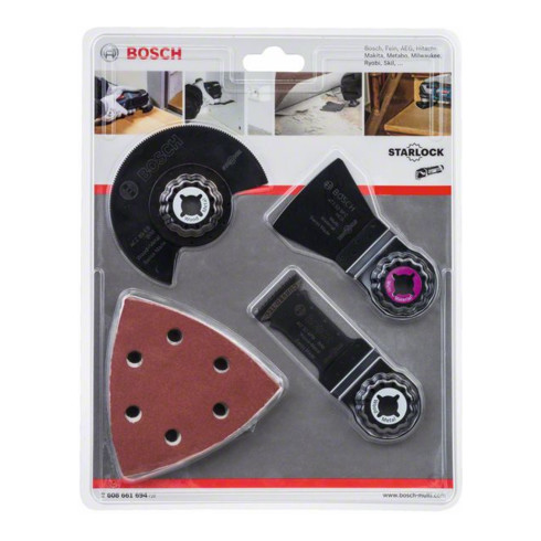 Bosch Universal-Set 13-teilig für Multi-Cutter Wood and Paint