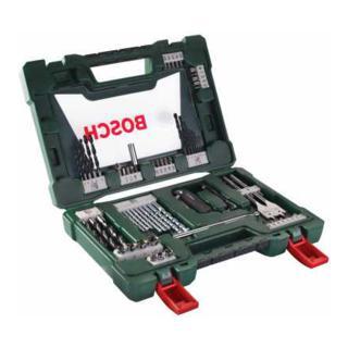 Bosch V-Line Bohrer- und Bit-Set, Klappmesser, Magnetstab, Winkelschrauber