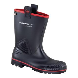 Bottes de sécurité Acifort Rocker T. 40 noir PVC / caoutchouc nitrile S5 SRA EN