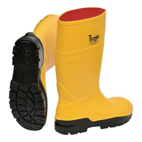 Bottes de sécurité Rönne T. 47 jaune polyuréthane S5 CI SRC EN ISO 20345 CRAFTLA