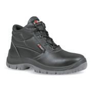 Bottes de sécurité Safe UK T. 43 noir cuir bovin S3 SRC EN ISO 20345