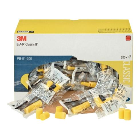 Bouchon antibruit E-A-R CLASSIC soft EN 352-2 (SNR)=28 dB carton distrib.200p