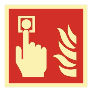 Brandschutzzeichen ASR A1.3/DIN EN ISO 7010/DIN 67510 Brandmelder Folie