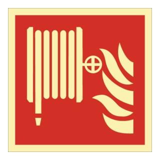 Brandschutzzeichen ASR A1.3/DIN EN ISO 7010/DIN 67510 Wandhydrant-Löschschl. Ku.