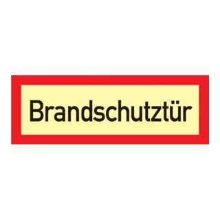 Brandschutzzeichen DIN 4066 L297xB105mm Brandschutztür Folie