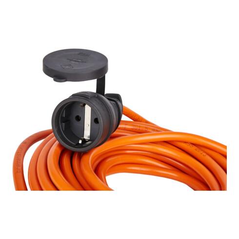 Brennenstuhl BREMAXX® Verlängerungskabel 5m Kabel in orange, für den Einsatz im Außenbereich