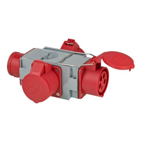 Brennenstuhl CEE Adapter Stromverteiler IP44 1x CEE Stecker 400V/16A