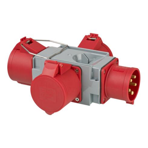 Brennenstuhl CEE Adapter Stromverteiler IP44 1x CEE Stecker 400V/32A