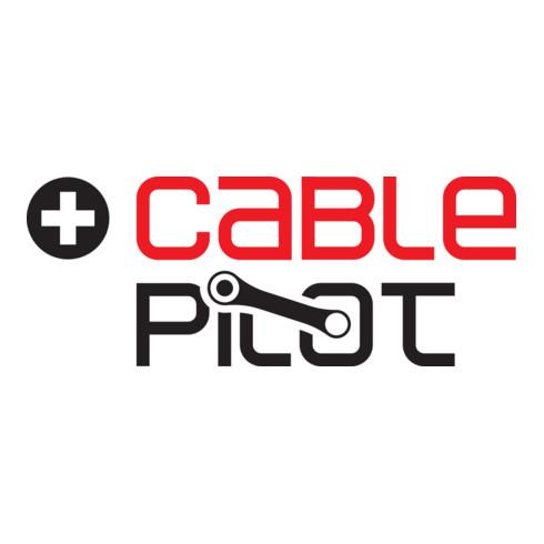 Brennenstuhl Garant Bretec FI IP44 Kabeltrommel 25m Kabel in schwarz