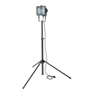 Brennenstuhl Halogenstrahler Set H 500 IP54 mit Stativ ST 160 2m