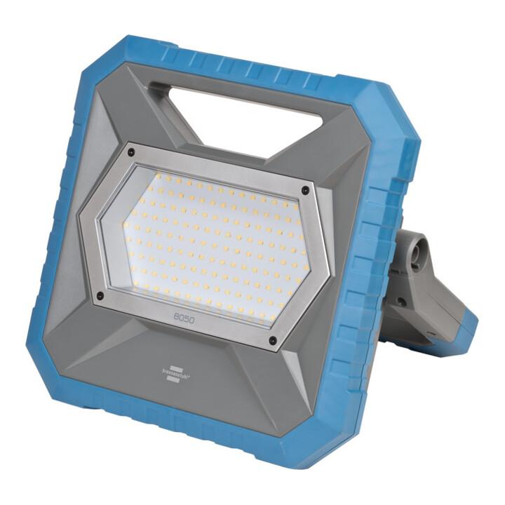 Brennenstuhl LED Hybrid Arbeitsstrahler BS 8050 MH / LED Baustrahler 80W
