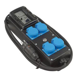 Brennenstuhl Personen-Schutzverteiler PRCD-S IP54 4-fach, 2m H07RN-F 3G2,5