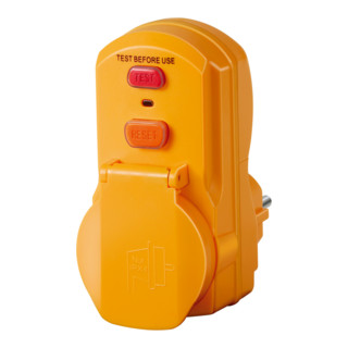 Brennenstuhl Personenschutz-Adapter BDI-A 2 30 IP54
