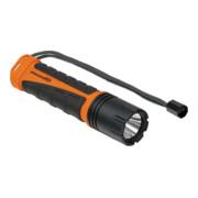 Brennenstuhl professionalLINE Akku LED-Taschenlampe TL 9-00 IP68 / Taschenleuchte mit 10W CREE-LED, staub- und druckwasserdicht, bis zu 300m Leuchtweite, 920lm im Boost-Modus, max. Leuchtdauer 33h