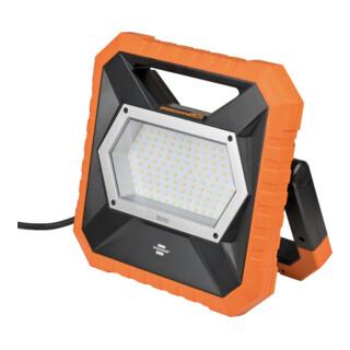 Brennenstuhl professionalLINE Mobiler LED Baustrahler X 8000 M, mit 5m Kabel, mit OSRAM LEDs, 8300 lm, IP54