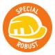 Brennenstuhl professionalLINE Verlängerungskabel IP44, 25m Kabel in orange H07BQ-F 3G2,5, BGI 608-5