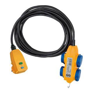 Brennenstuhl Schutzadapterleitung FI + Powerb. 5m