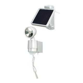 Brennenstuhl Solar LED-Spot SOL 1x4 weis 1170940 4x 0,5W - mit Bewegungsmelder 1170940
