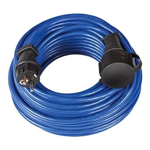 Brennenstuhl Verlängerungskabel BREMAXX IP44 25m blau