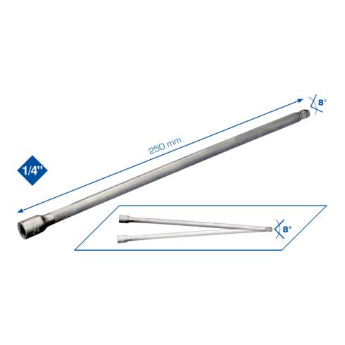Brilliant Tools 1/4 Zoll Schwenkbare Verlängerung,