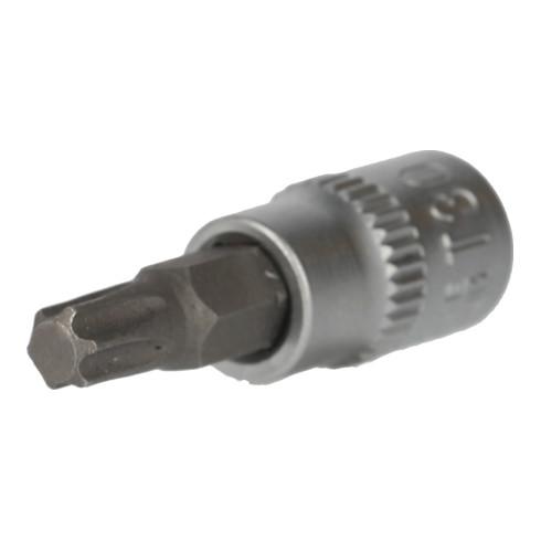 Brilliant Tools 1/4 Zoll Torx-Bit-Stecknuss, mit Stirnlochbohrung