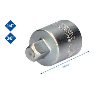 Brilliant Tools 3/8 Zoll Adapter auf 1/4 Zoll