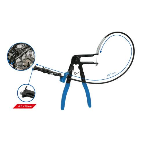 Brilliant Tools Schlauchschellen-Zange, mit Bowdenzug