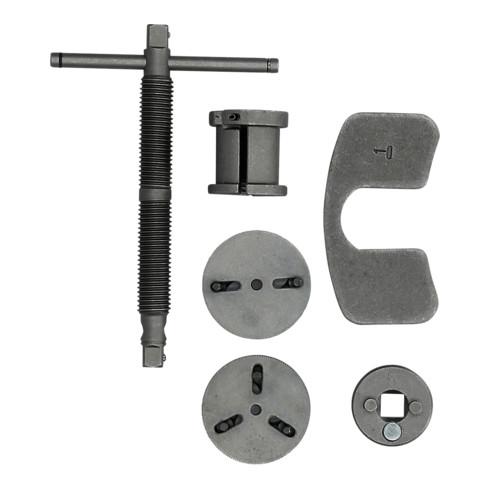 Brilliant Tools Universal-Bremskolben-Rückstellwerkzeug-Satz, 5-tlg