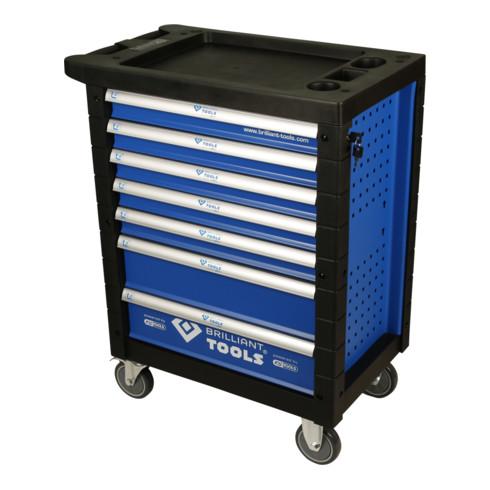 Brilliant Tools Werkstattwagen mit 7 Schubladen