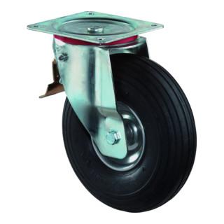 BS Lenkrolle mit Feststeller lager Stahlfelge