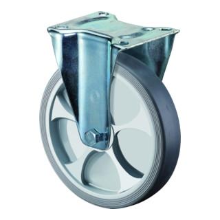 BS Rollen Bockrolle thermoplastisches Gummirad