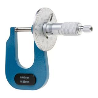 Bügelmessschieber m. Scheibe 0- 25mm FORMAT