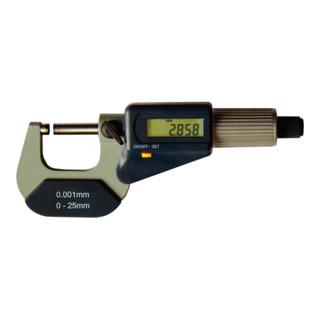 Format Digital-Bügelmessschraube DIN 863