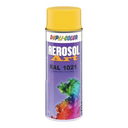 Buntlackspray AEROSOL Art rapsgelb glänzend RAL 1021 400 ml Spraydose