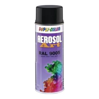 Buntlackspray AEROSOL Art tiefschwarz glänzend 9005 400 ml Spraydose DUPLI-COLOR