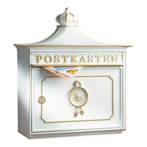 Burg Wächter Guss-Briefkasten Bordeaux 1895 BC
