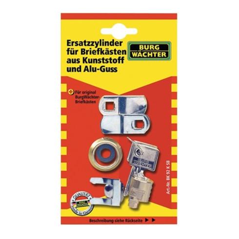 Burg-Wächter Zylinder für Briefkästen BK 92 K SB