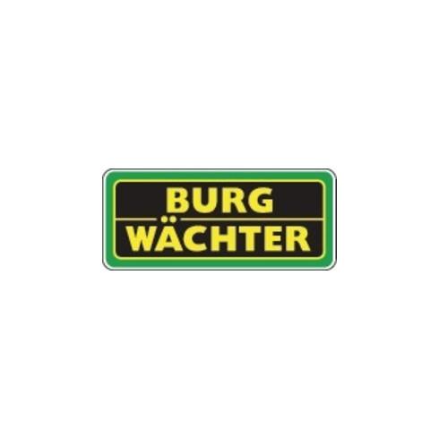 Burg-Wächter Zylinder-Vorhangschloss 22 NI 60 Schlosskörper-B.60mm MS versch.-schl.