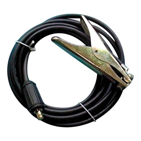 Câble de masse surmoulé 200 A L. câble 5 m section câble 25 mm² fiche KS 50 enve