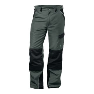 Canvas Bundhose Charlton Gr. 56 grau/schwarz 65% PES/35 % CO