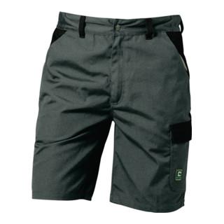 Canvas Shorts Sao Paulo Gr. 52 grau/schwarz 65 % Polyester/35 % CO