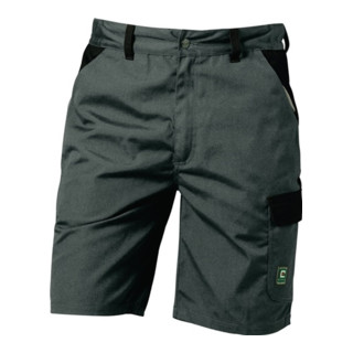 Canvas Shorts Sao Paulo Gr. 54 grau/schwarz 65 % Polyester/35 % CO